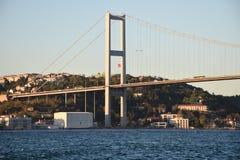 Ä°stanbul Bosphorus Birdge Στοκ Εικόνα