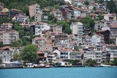 Ä°stanbul Bosphorus Sariyer stockfoto