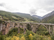 Ä- urÄ ` eviÄ ‡ eine Brücke lizenzfreies stockfoto