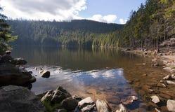 Äertovo jezero (Devil's湖) 库存照片