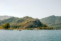 Ägäische Inseln im Mittelmeer Lizenzfreie Stockbilder