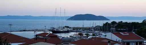 Ägäisches Meer, Griechenland Stockbild