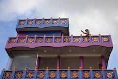 Ägaren av det lilla hotellet, Shri Lanka royaltyfri foto