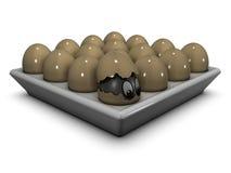 äggögon Arkivfoto