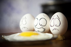 Ägg. royaltyfri bild