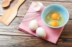 Ägg för omelett Royaltyfri Bild