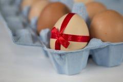 Ägg för specialt erbjudande för påsk Arkivfoton