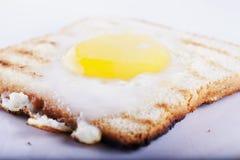 Ägg i ett hål Arkivbilder