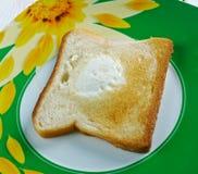 Ägg i korgslutet upp Royaltyfri Foto