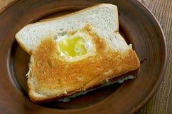 Ägg i korgslutet upp Royaltyfria Bilder
