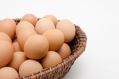 Ägg i magasin Royaltyfri Fotografi