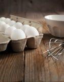Ägg i packen Arkivbilder