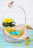 Ägg i redet Royaltyfri Foto