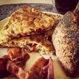Ägg och bacon Royaltyfri Fotografi