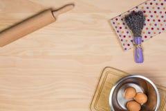 Ägg och kavel Royaltyfri Foto