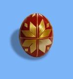 Ägg/rött/blått Arkivbild