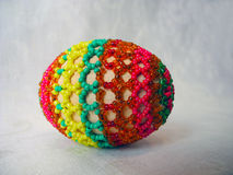 Ägg som dekoreras med pärlor Royaltyfri Foto