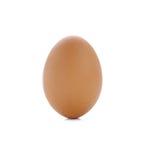 Ägg som ett isoleras på vit bakgrund Royaltyfri Fotografi