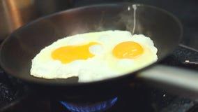 ägg stekt panna lager videofilmer