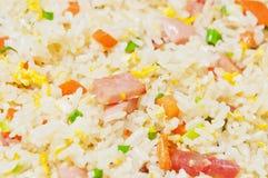 Ägg stekte rice Arkivfoto
