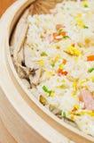 Ägg stekte rice Arkivfoton
