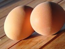 ägg två Arkivfoto