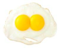 ägg vänder stekt roligt som look mot Royaltyfria Foton