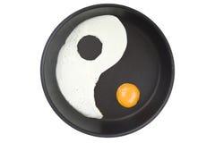 ägg yang arkivbilder