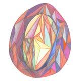 Ägget av trianglar Arkivbild