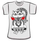 ägget för designen för bakgrundsblackclosen stekte upp pannaskjorta t Arkivfoton
