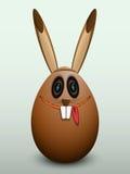 Ägget i kaninmaskeringen Arkivbilder