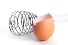 ägget piskar arkivbilder