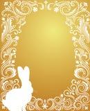 äggguld royaltyfri illustrationer