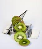 äggkiwifruitförskärare Arkivbilder