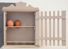 Äggkorg Arkivfoto
