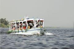 Ägypten - 30. September 2010 Nil Stockfoto