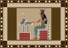 Ägypten 10 Lizenzfreies Stockfoto