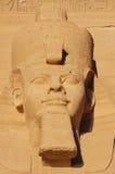 Ägypten. Abu Simbel Stockbilder
