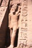 Ägypten Abu Simbel Temple Stockbilder