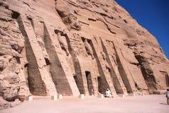Ägypten Abu Simbel Temple Stockfotografie
