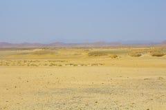 In Ägypten an der Sonnenuntergang Sandwüste Lizenzfreie Stockbilder