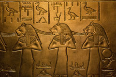 Ägypten-Entlastung stockfotos