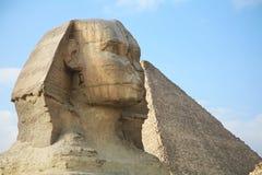 Ägypten, Giseh, Pyramiden stockfoto