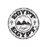 Ägypten grunge Stempel Lizenzfreie Stockfotos