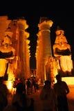 Ägypten-Luxor Stockfoto