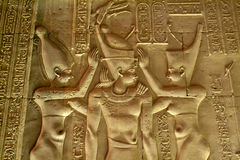 Ägypten-Tempel von Kom Ombo Lizenzfreies Stockbild