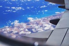 Ägypten vom Flugzeug stockfoto
