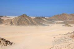 Ägypten-Wüste stockfotos