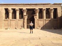 Ägyptische Denkmäler Stockbilder