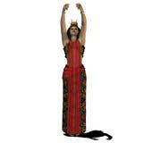 Ägyptische Frau 02 Stockbilder